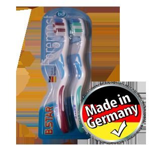 مسواک آلمانی BStar شماره ۵۰ ( دوقلو )