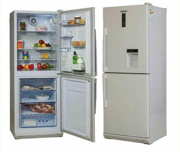 یخچال فریزر دو در سفید تکنوسان مدل K826